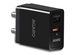 AGARO - 33272 5.4 Amp Dual Port Quick Wall Charger