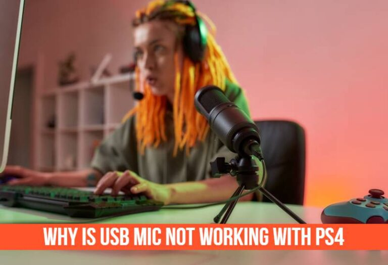 Read more about the article Why is USB mic not working with PS4? (Easy Methods to Fix The Issue)